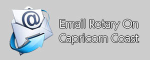 email Rotary Club on Capricorn Coast and contact details
